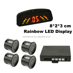 Rainbow LED Wireless Popular Flush Mount Parking Sensor Hidden Camera For Car Parking Parking Sensor--RD036C4