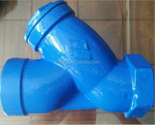 Thread filter Usually installed at the inlet of the relief valve, relief valve, water level valve or other equipment