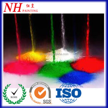 Dye sublimation soft touch polymer powder coating