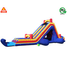 kids used commercial large inflatable stair slide cheap top quality inflatable water slide with pool for sale