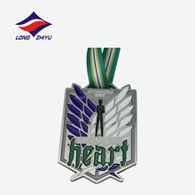 High quality antique pewter die casting medals with your own design