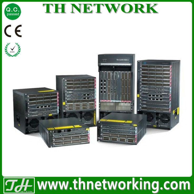 Genuine Cisco Catalyst Switch VS-C6509E-S720-10G Catalyst Chassis+Fan Tray+Sup720-10G; IP Base ONLY incl. VSS