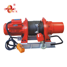500kg E1/750kg/1000E1 220v/380v wireless remote control wire rope mini electric winch