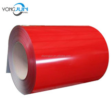 Prepainted color coated aluminum coil and sheet