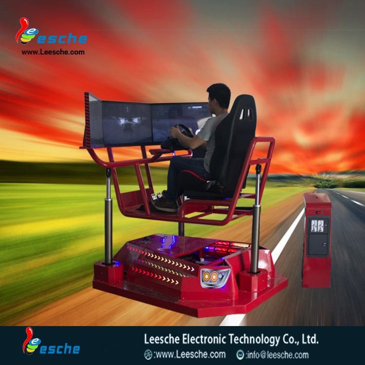 Amusement profitable business car simulator pc game driving simulator from leesche