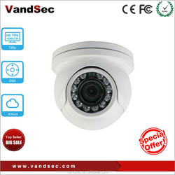 "Vandsec Economy Mini Vandalproof IR Dome 1/3"" Color SONY 700 TVL Camera cheap indoor Analog Camera"