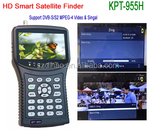 DIHAO High Quality HD Digital <strong>Satellite</strong> Signal Meter Finder Good Price KPT955H