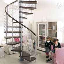Fancy outdoor design metal spiral staircase