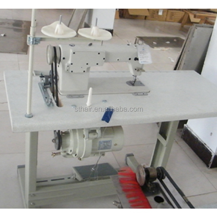 Professional Hair Factory Use Hair Sewing Machine Overlock Sewing Machine, Industrial Sewing Machine, Assembling Machine