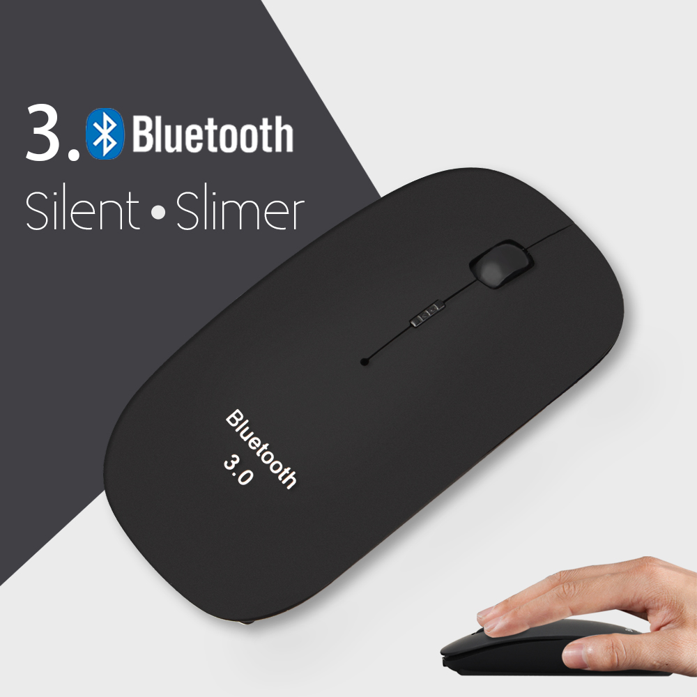 Small size mini mute silent click for home use USB bluetooth 3.0 wireless mouse