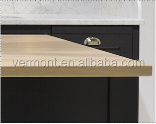 2017 New Classic Solid Wood Kitchen Cabinet Design In Competitive Price VT-SK-024