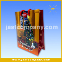 New Year Custom Musical Gift Bags, Paper Offset Printing Musical Gift Bags