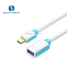 High Quality otg 3.0 cable usb-c 3.1 type c to usb 3.0 cable adapter connector