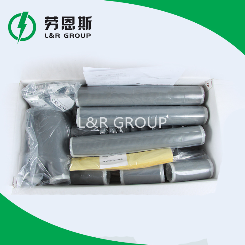 Outdoor 1kv 3 cores high voltage cable termination kits