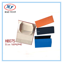 fold read glasses custom sunglass case, eyeglass holder leather eyewear case/leather case sunglasses/folding case H8075