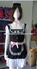 Sexy French Maid Halloween Xmas Lolita Outfit Cosplay Fancy Dress Costume 8607