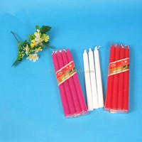 Wholesale daily household Long burning time bougies and white candle