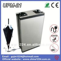 2014 new product wet umbrella machine stand news stands