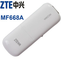 ZTE MF668A WCDMA 3g wireless internet card 3G USB Modem and 3G dongle Data Card