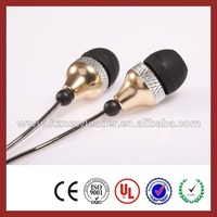 mp3 player cheap promotional retractable plastic earring uhf wireless earbud
