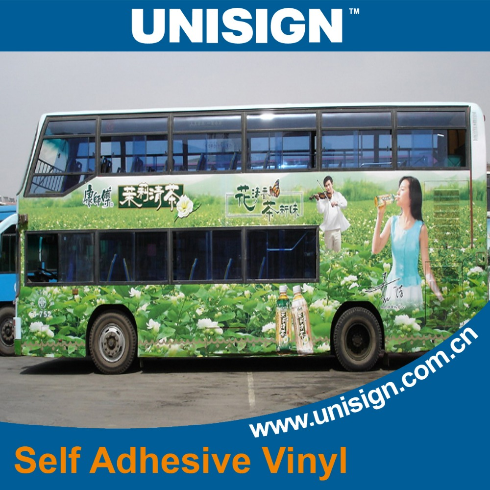 Bus wrap car wrap sticker Self adhesive vinyl car sticker Color