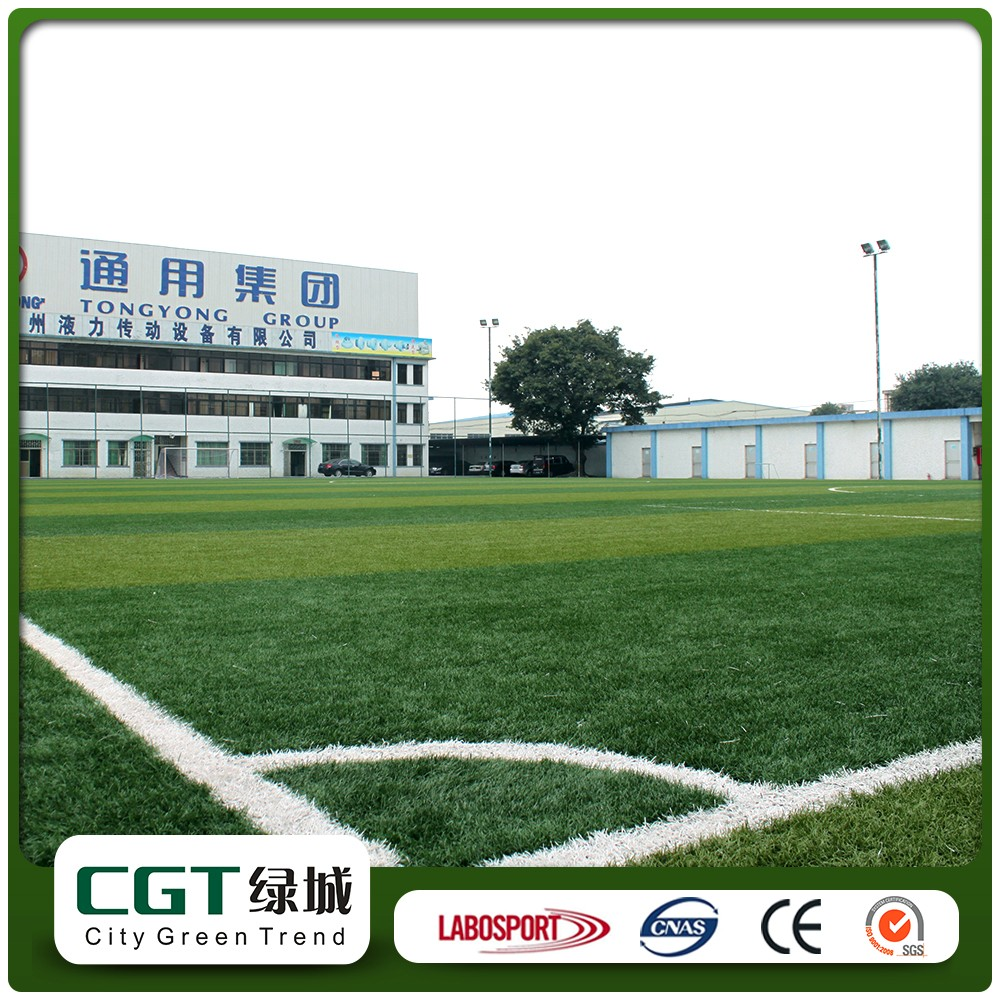 Complete covered indoor small turf tile football soccer court field carpet cost mat