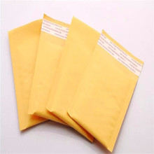 Golden Color Kraft Paper Bubble Mailers Mailing Envelope Bag