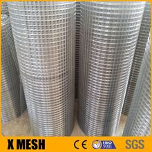 beautiful look galvanized 2x2 galvanized welded wire mesh panel for decoration