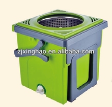 spin mop - newest compact folding mop bucket system 4 head spin and go dispenser plastic bottle