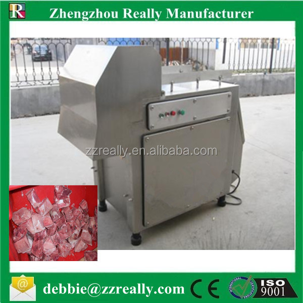 frozen meat block cutter/ flaker/slicing machine