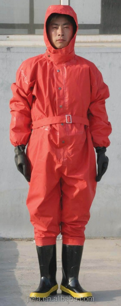 rubber chemical suit with a cheap price