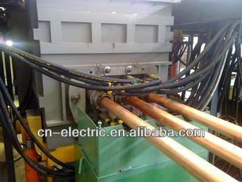 Main Frequency Cored Induction Furnace For Copper Rods Making