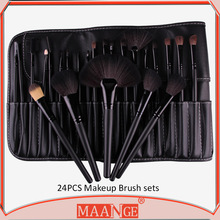 wholesale makeup brushes MAANGE 24pcs makeup brushes professional makeup brush set