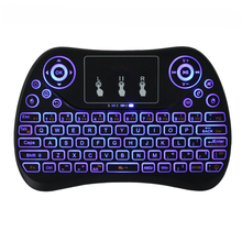 Wholesale T2C air mouse mini smallest keyboard for tv box
