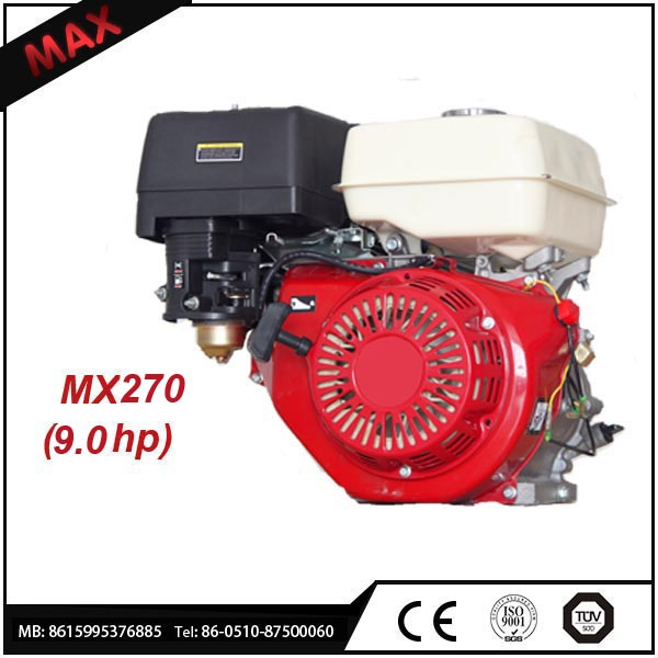 270cc Go Kart Gasoline Engine 4-Stroke Air-cooled 9 hp