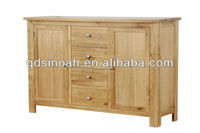 2013 new design wooden 4 drawer 2 door sideboard