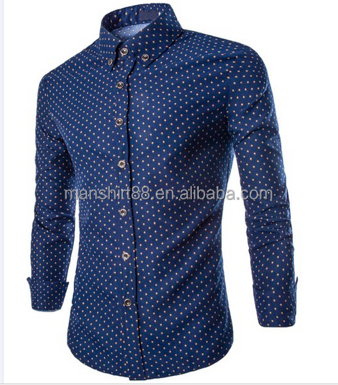 Slim Fit Long Sleeve Button Down Shirts dress shirts for men