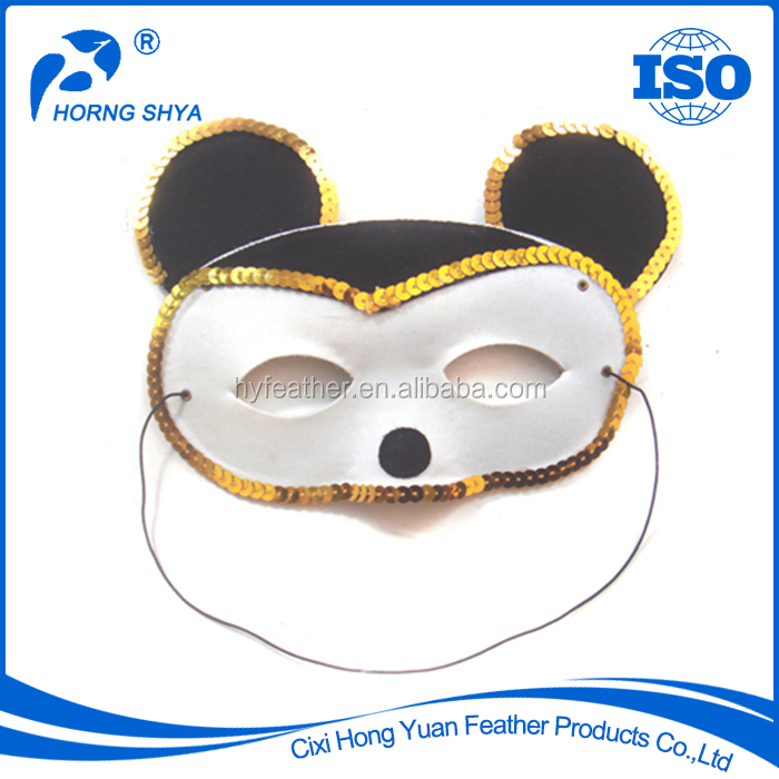 China Horng Shya Factory High Quality 2017 Promotional Animal Head Masks For Party