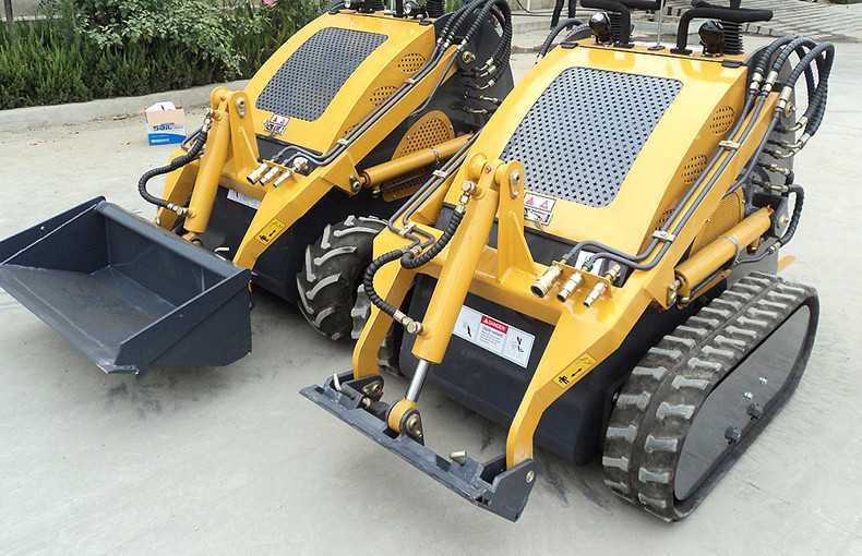 customized nice design China mini skid steer