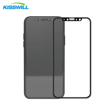 New Arrival 3D Curved 9H High TransmittanceTempered Glass Screen Protector For iPhone X