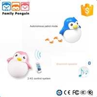 new penguin toy cheap music mini wireless led portable bluetooth speaker