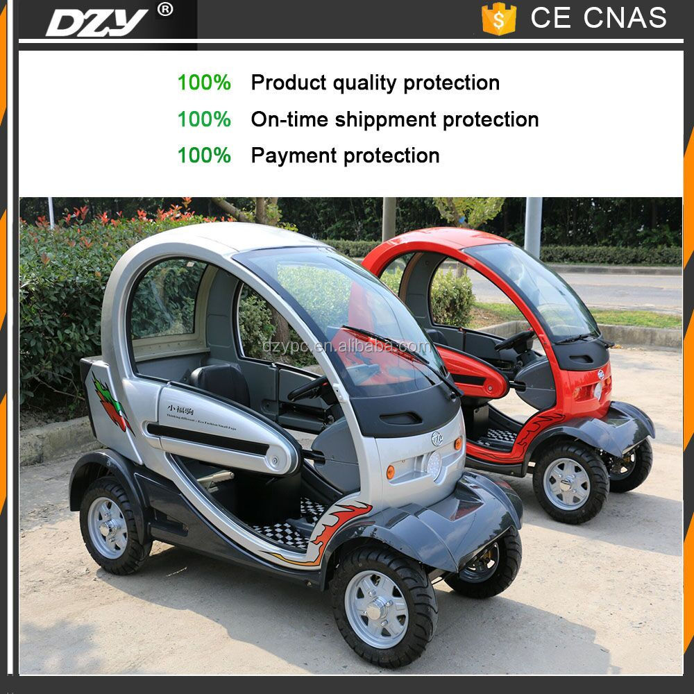 personal electric passenger vehicle for disable people