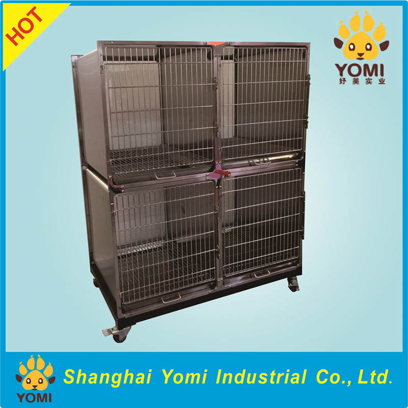 China cheapest stainless steel pet display cage