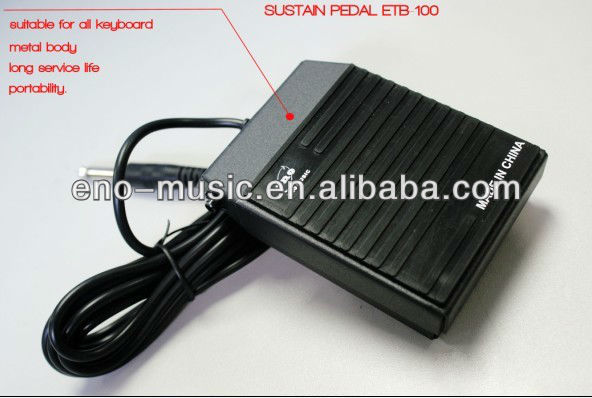 Fully Metal body Universal Sustain Pedal for CASIO, YAMAHA Keyboard