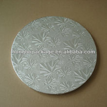 foil covered square rectangle white cake board cake circles