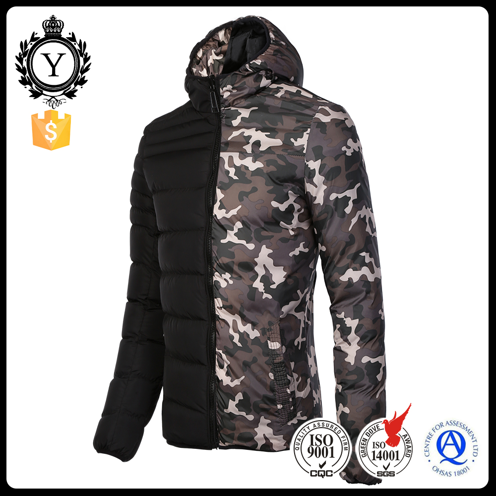 2016 COUTUDI fashion reversible mens winter waterproof wholesale camo clothing jackets