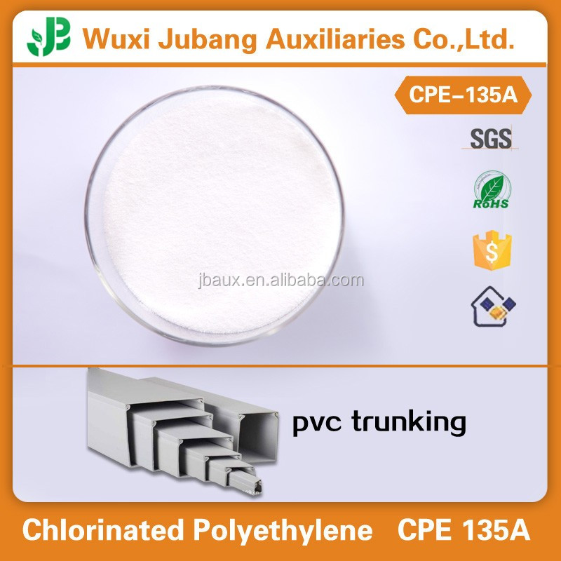Wholesale 99.9% Purity Chlorinated polyethylene Chemical CPE135a