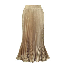 wholesale Clothing Slim Fit Pleated Skirt Long For Muslim Women