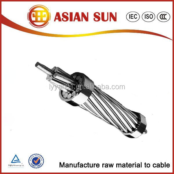 ASTM Standard overhead cable AAC/AAAC conductor factory price for sale