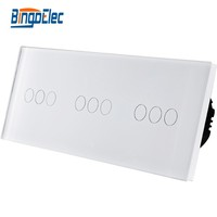 Touch sensor wall switch